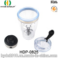 450ml Hot Popular Plastic Gym Protein Electric Shaker Bottle, Plastic Vortex Protein Shaker Bottle (HDP-0825)