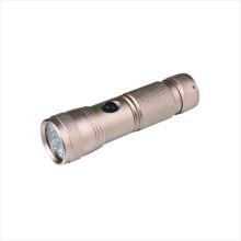 Lanterna elétrica de alumínio do diodo emissor de luz da bateria seca (CC-6002)