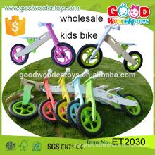 2015 venta directa de fábrica de coches en el coche Juguetes Bicicletas para niños de alta calidad 12inch de madera para niños de juguete al por mayor de juguete directamente desde China