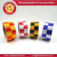 cinta reflectante adhesiva de evidencia para vehículos