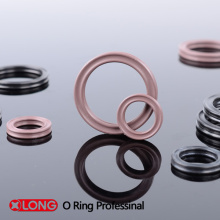 Stable Flexible Standard Rubber Viton Brown X Rings