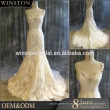 Werbe-Logo gedruckt billig benutzerdefinierte Meerjungfrau türkischen Brautkleider