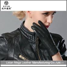 Nuevo estilo de conducción de automóviles 3M thinsulate guantes forrados de mano de deerskin mano