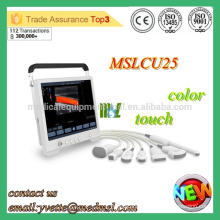MSLCU25M 2016 Protable Color doppler ultrasound machine come with convex probe