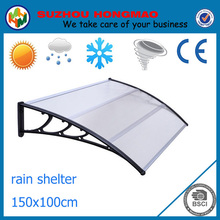 Clear DIY PC plastic used balcony awnings