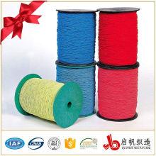 Ruban de sangle tressé en coton de couleur unie pour vêtement et sacs