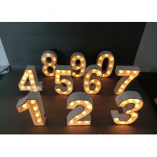 Lumières de décoration de vacances LED pour Walll Hanging