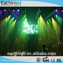 aluminium intérieur / extérieur location led écran d'affichage p3, p4, p5, p6 smd led panneau mural pour une utilisation en intérieur