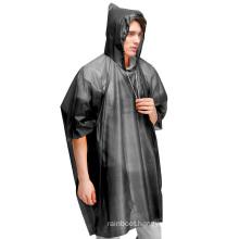 Pvc Disposable Rain Gear Ponchos Raincoats For Women Men