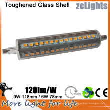 LED R7s LED Halogen Bulb 118mm 9W 1080lm