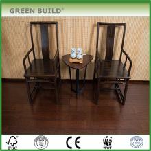 Plancher en bambou massif de couleur vert wengé de 15 mm