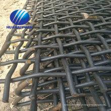 Steinvibrationsschirmmasche hoch dehnbarer Stahl gekräuselter Maschebergbau Siebschirmmasche