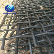 stone vibrating screen mesh high tensile steel crimped mesh mining sieve screen mesh