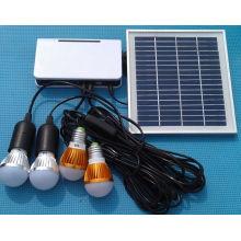 4PCS 1W Rechargeable Solar Battery LED Lamp Lighting Light System