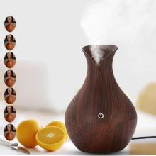 130ml wood grain ultrasonic essential oil aroma diffuser