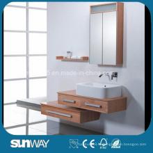 Современный дизайн Solid Wood Bathroom Cabinet Vanity