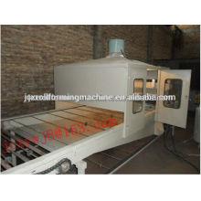 Piedra revestida de azulejos de azulejos fabricación de la línea de producción de máquinas