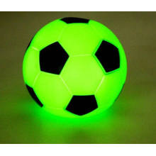 Горячая Распродажа Забавный Футбол Зеленый Мигающий Свет