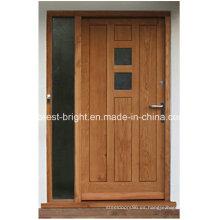 Estilo tradicional puerta de roble macizo en venta