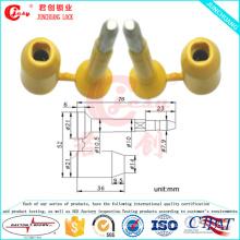 Selo de contêiner de alta segurança - com pino flexível e recurso anti-rotação