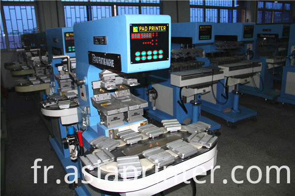 conveyer two color pad printer 1