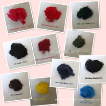 viscose staple fiber doped dyed