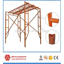 Outils de construction de bâtiments et système d'échafaudage de cadre d'équipement