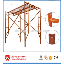 Building construction tools and equipment frame scaffolding system