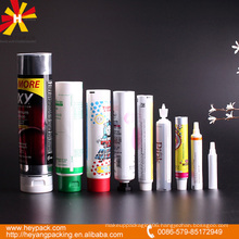 different capacity laminated aluminum tubes