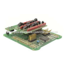 PCB Assembly with Plastic Molding and Injection, Silkscreen and Pad Printing