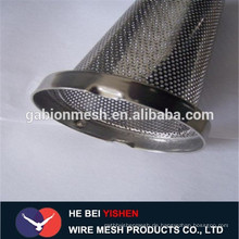 Perforiertes Metall-Mesh-Lautsprecher-Gitter / gute Qualität Perforiertes Metallrohr