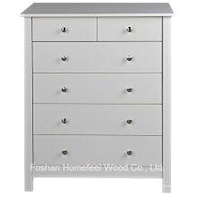 Dormitorio de madera 2 + cajón de 4 cajones armario de tocador de almacenamiento (HC14)