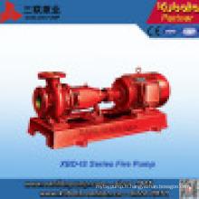 Pompe à incendie motorisée pour équipement de lutte contre l'incendie