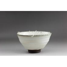 Export nach Japan Weiß Und Grau Matcha Zucker Schüssel