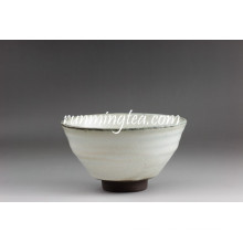 Export au Japon White and Gray Matcha Sugar Bowl