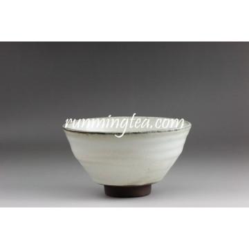 Export au Japon blanc et gris Matcha Sugar Bowl
