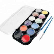 Skin-Friendly Adulto Fácil Maquiagem Halloween Face Paint
