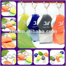 Colourful optical cleaning lens cloth with logo embossed