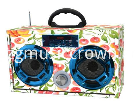 Art Portable Bluetooth Promotion Gift Speakers