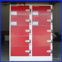 12-18 Türen Kundenspezifische Farbe Coin Locker
