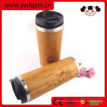 taza de café reutilizable de la fibra de bambú para el café