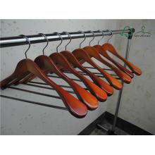 """17 """"5 cabide de vestuário para Brasão em cor de cereja"""