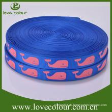 Großhandel Charakter Polyester Custom gedruckt Grosgrain Ribbon