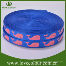 Wholesale Character Polyester Custom Printed Grosgrain Ribbon