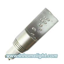 GU10 3W conduziu a lâmpada do ponto RGB