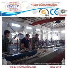WPC bench panel/board making machine