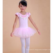 Les conceptions de robes d'enfants de mode, robe de ballet de bébé de dentelle, costumes de bébé enfant en bas âge