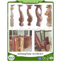 wood stair spindles indoor decorative columns