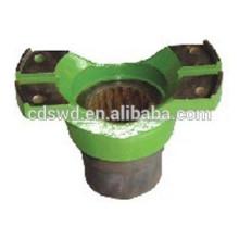 Jugo de flange de peças de caminhão de mineração Terex fabricado na China