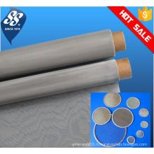 Тонкий металлический сетчатый фильтр из нержавеющей стали 304 / фильтровальный диск 10 микрон / проволочная сетка